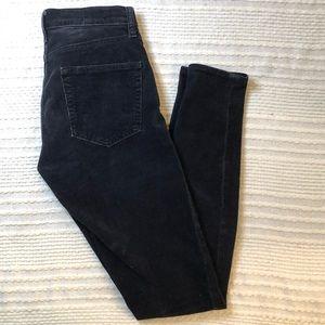 GAP always skinny high rise corduroy jeans